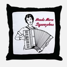 Cute Accordian Throw Pillow