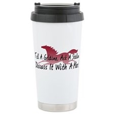 Discuss It With A Mare! Travel Mug
