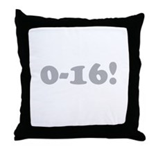 0-16 Throw Pillow