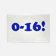 0-16! Rectangle Magnet