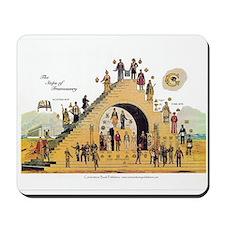 The Steps of Freemasonry Mousepad