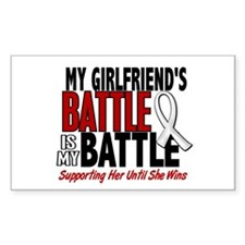 My Battle Too 1 PEARL WHITE (Girlfriend) Decal