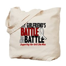 My Battle Too 1 PEARL WHITE (Girlfriend) Tote Bag