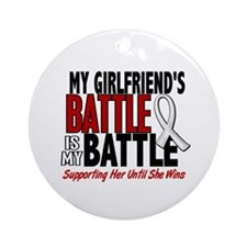 My Battle Too 1 PEARL WHITE (Girlfriend) Ornament