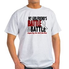 My Battle Too 1 PEARL WHITE (Girlfriend) T-Shirt