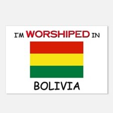 I'm Worshiped In BOLIVIA Postcards (Package of 8)