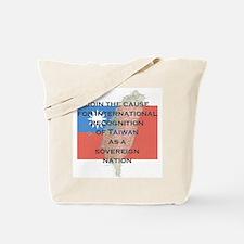 Sovereign Taiwan Tote Bag