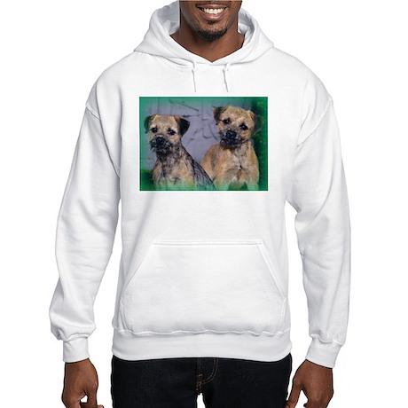 Border (Patrol) Terrier Hooded Sweatshirt