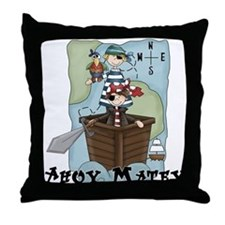 Pirate Adventures Throw Pillow