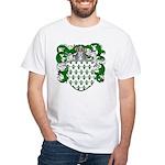 Hoppen Family Crest White T-Shirt