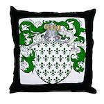 Hoppen Family Crest Throw Pillow
