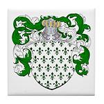Hoppen Family Crest Tile Coaster