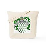 Hoppen Family Crest Tote Bag