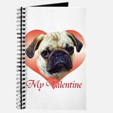Pug Valentine Journal