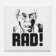 Rad Old Guy Tile Coaster