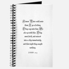 JOHN 21:3 Journal