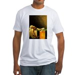 Death of Marat Fitted T-Shirt