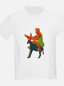 Jesus on Harley (the Messiah Donkey) T-Shirt