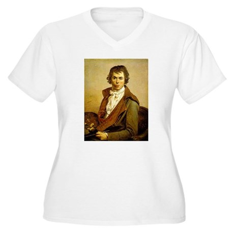Self Portrait Women's Plus Size V-Neck T-Shirt