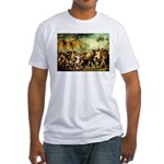 Rape of Sabine Women Fitted T-Shirt