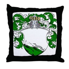 Jager Family Crest Throw Pillow