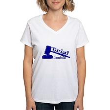 Trial Junkie (blue) Shirt