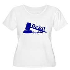 Trial Junkie (blue) T-Shirt
