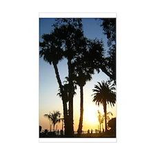 Santa Monica, California Rectangle Decal