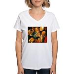Doctors Women's V-Neck T-Shirt