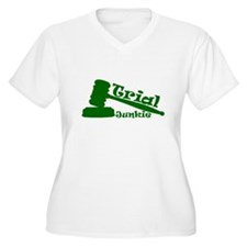 Trial Junkie (green) T-Shirt