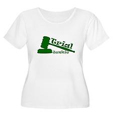 Trial Junkie (green) T-Shirt