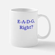 E-A-D-G, Right? Mug
