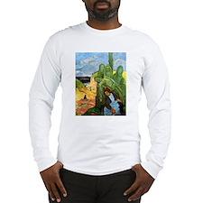 Green Christ Long Sleeve T-Shirt