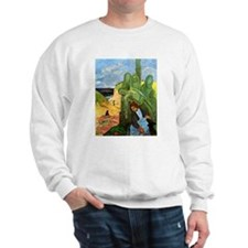Green Christ Sweatshirt