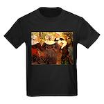 Four Breton Women Kids Dark T-Shirt