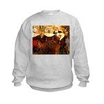 Four Breton Women Kids Sweatshirt
