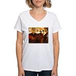 Four Breton Women Women's V-Neck T-Shirt