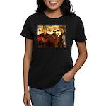 Four Breton Women Women's Dark T-Shirt