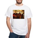 Four Breton Women White T-Shirt