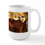 Four Breton Women Large Mug