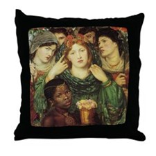 Rossetti's The Beloved or The Bride Throw Pillow