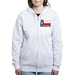 Texas-4 Women's Zip Hoodie