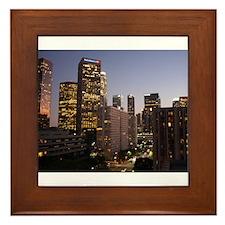 Los Angeles, California Framed Tile