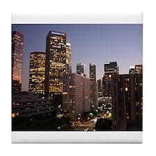 Los Angeles, California Tile Coaster