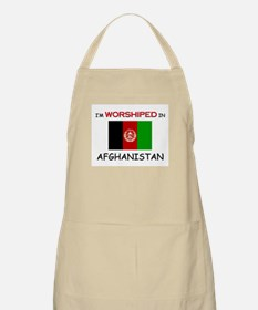 I'm Worshiped In AFGHANISTAN BBQ Apron