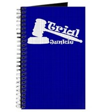 Trial Junkie (blue) Journal