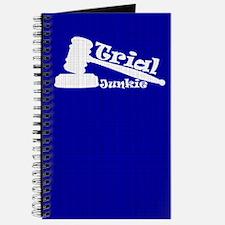 Trial Junkie (blue) Journal