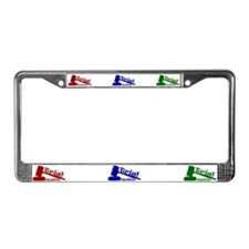 Trial Junkie License Plate Frame