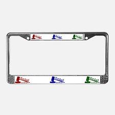 Trial Junkie License Plate Frame