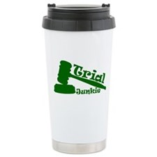 Trial Junkie (green) Travel Mug